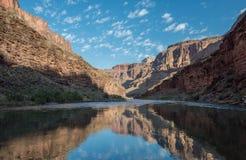 Αντανακλάσεις ποταμών του Κολοράντο στοκ φωτογραφία