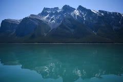 Αντανακλάσεις σε μια λίμνη βουνών Στοκ Φωτογραφία
