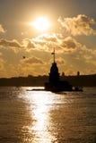 Αντανακλάσεις σε Bosphorus Στοκ φωτογραφία με δικαίωμα ελεύθερης χρήσης