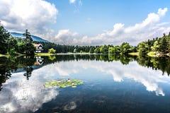 Αντανακλάσεις στη λίμνη στοκ εικόνες