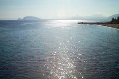 Αντανακλάσεις του ήλιου Στοκ Φωτογραφίες