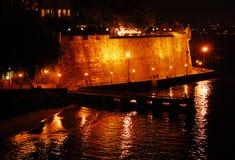 αντανακλάσεις moro οχυρών EL Στοκ φωτογραφίες με δικαίωμα ελεύθερης χρήσης