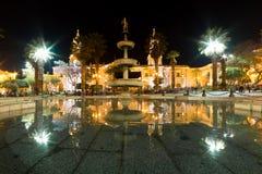 Αντανακλάσεις Plaze de Armas σε Arequipa Στοκ Φωτογραφίες