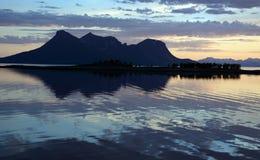 Αντανακλάσεις και βουνό Στοκ Εικόνα