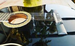 Αντανακλάσεις και μουσική, σύμβολα Στοκ Εικόνες