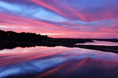Αντανακλάσεις ουρανού Στοκ φωτογραφίες με δικαίωμα ελεύθερης χρήσης