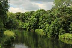 Αντανακλάσεις ποταμών Στοκ φωτογραφίες με δικαίωμα ελεύθερης χρήσης