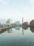 Αντανακλάσεις πόλεων Στοκ φωτογραφία με δικαίωμα ελεύθερης χρήσης