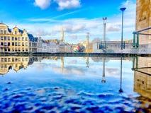 Αντανακλάσεις πόλεων Στοκ Εικόνες