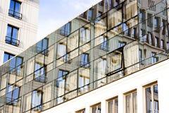Αντανακλάσεις πόλεων Στοκ εικόνες με δικαίωμα ελεύθερης χρήσης
