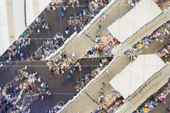 Αντανακλάσεις σε Els Encants Vells, Βαρκελώνη Στοκ Εικόνες