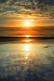 Αντανακλάσεις στη beal παραλία Στοκ Εικόνες