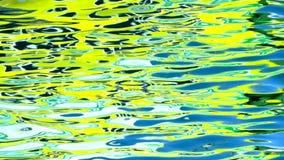 Αντανακλάσεις στο θαλάσσιο νερό απόθεμα βίντεο