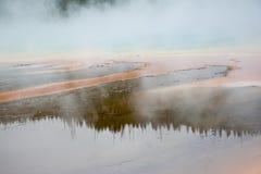 Αντανακλάσεις την καυτή άνοιξη Στοκ εικόνες με δικαίωμα ελεύθερης χρήσης