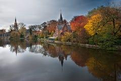 Αντανακλάσεις του φθινοπώρου Στοκ Φωτογραφία