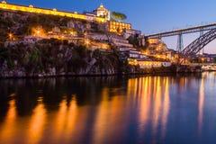 Αντανακλάσεις Douro ποταμών Στοκ φωτογραφίες με δικαίωμα ελεύθερης χρήσης