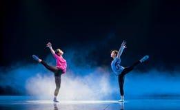 Αντανακλώ-σύγχρονος χορός στοκ φωτογραφίες με δικαίωμα ελεύθερης χρήσης