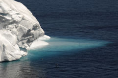 ανταρκτική γλώσσα πάγου Στοκ Εικόνες