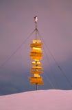 ανταρκτικό σημάδι penguin Στοκ εικόνες με δικαίωμα ελεύθερης χρήσης