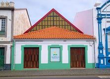 Αντβεντιστική εκκλησία ημέρα-ημέρας, Angra, Αζόρες Στοκ Εικόνα