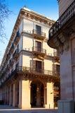 Αντεγμένο η Βαρκελώνη barrio arcade στην οδό στοκ εικόνες