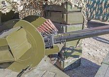 αντιαεροπορικό πυροβόλο όπλο 23mm Στοκ φωτογραφίες με δικαίωμα ελεύθερης χρήσης
