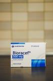 Αντιβιοτικά χάπια Bioracef Στοκ Εικόνα