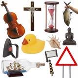 Αντικείμενα για τη διακοπή - που απομονώνεται στοκ φωτογραφία