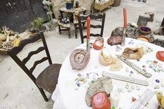 Αντικείμενα για τις περιόδους και witchcraft Στοκ φωτογραφίες με δικαίωμα ελεύθερης χρήσης