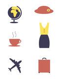 Αντικείμενα γυναικών Στοκ Φωτογραφία