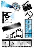 αντικείμενα κινηματογράφ& Στοκ φωτογραφίες με δικαίωμα ελεύθερης χρήσης
