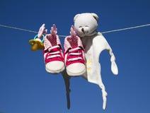 Αντικείμενα μωρών Στοκ εικόνα με δικαίωμα ελεύθερης χρήσης