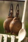 αντικείμενα ξύλινα Στοκ Εικόνες