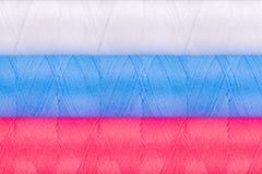 αντικείμενα που ράβουν το νήμα στροφίων στοκ φωτογραφίες με δικαίωμα ελεύθερης χρήσης