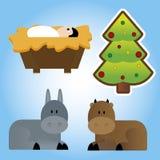 Αντικείμενα Χριστουγέννων Στοκ Φωτογραφίες