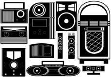 Αντικείμενα ψυχαγωγίας Στοκ Εικόνα
