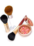 αντικείμενα makeup στοκ εικόνες