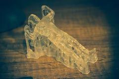 Αντικείμενα photopolymer που τυπώνονται σε έναν τρισδιάστατο εκτυπωτή στοκ εικόνα