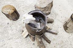 Αντικείμενα witchcraft Στοκ Εικόνες