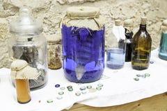 Αντικείμενα witchcraft Στοκ Εικόνα