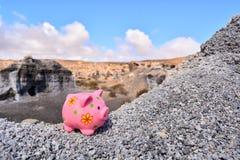 Αντικείμενο στην ξηρά έρημο στοκ φωτογραφίες