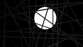 Αντικείμενο φωτισμού που κλειδώνεται στο σκοτάδι Στοκ εικόνα με δικαίωμα ελεύθερης χρήσης