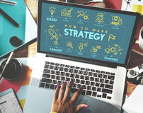 Αντικειμενική έννοια οράματος προγραμματισμού ανάπτυξης στρατηγικής Στοκ φωτογραφία με δικαίωμα ελεύθερης χρήσης