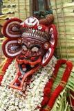 αντιμετωπίζει theyyam Στοκ Εικόνες