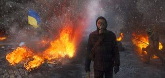 Αντιμετώπιση της κυβέρνησης και της αντίθεσης Στοκ Φωτογραφίες