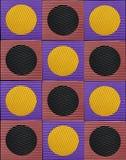 Αντιολισθητικό τετραγωνικό λάστιχο. Στοκ Φωτογραφία