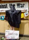 Αντιπολεμική διαμαρτυρία Στοκ εικόνες με δικαίωμα ελεύθερης χρήσης