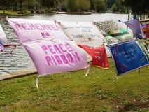 Αντιπολεμική διαμαρτυρία Στοκ φωτογραφία με δικαίωμα ελεύθερης χρήσης
