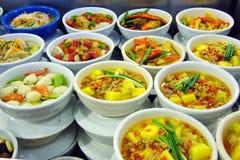 αντιπροσωπευτικό πρόχειρο φαγητό της Κίνας hunan Στοκ Εικόνες