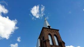 Αντιπροσωπεύοντας το νεογοτθικό ύφος, είναι η μεγαλύτερη εκκλησία πετρών στη Λιθουανία Στοκ εικόνα με δικαίωμα ελεύθερης χρήσης